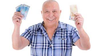 Un retraité heureux