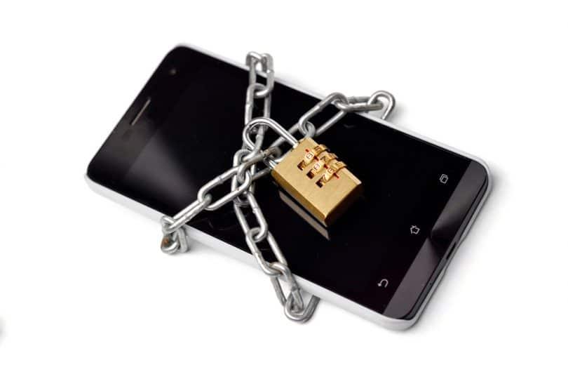 Smartphone protégé