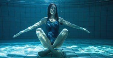 Yoga dans l'eau
