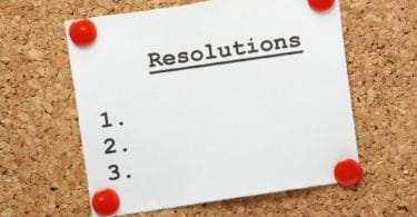 résolutions nouvelle année