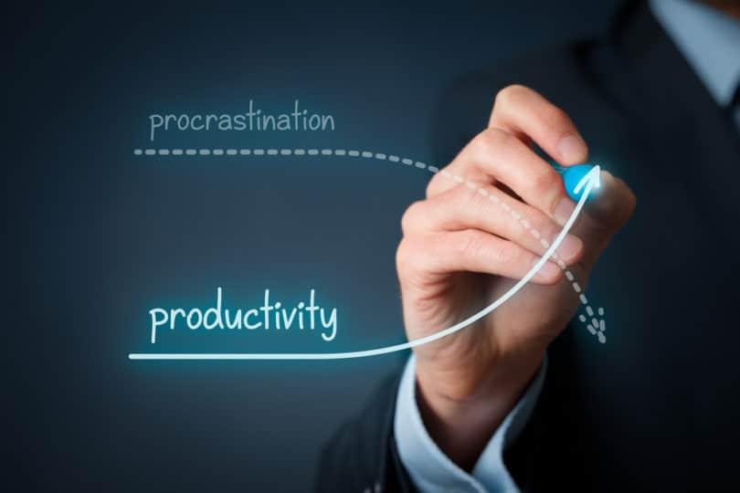 procrastination-productivité