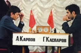 karpov vs kasparov jeux d'echecs mentorship