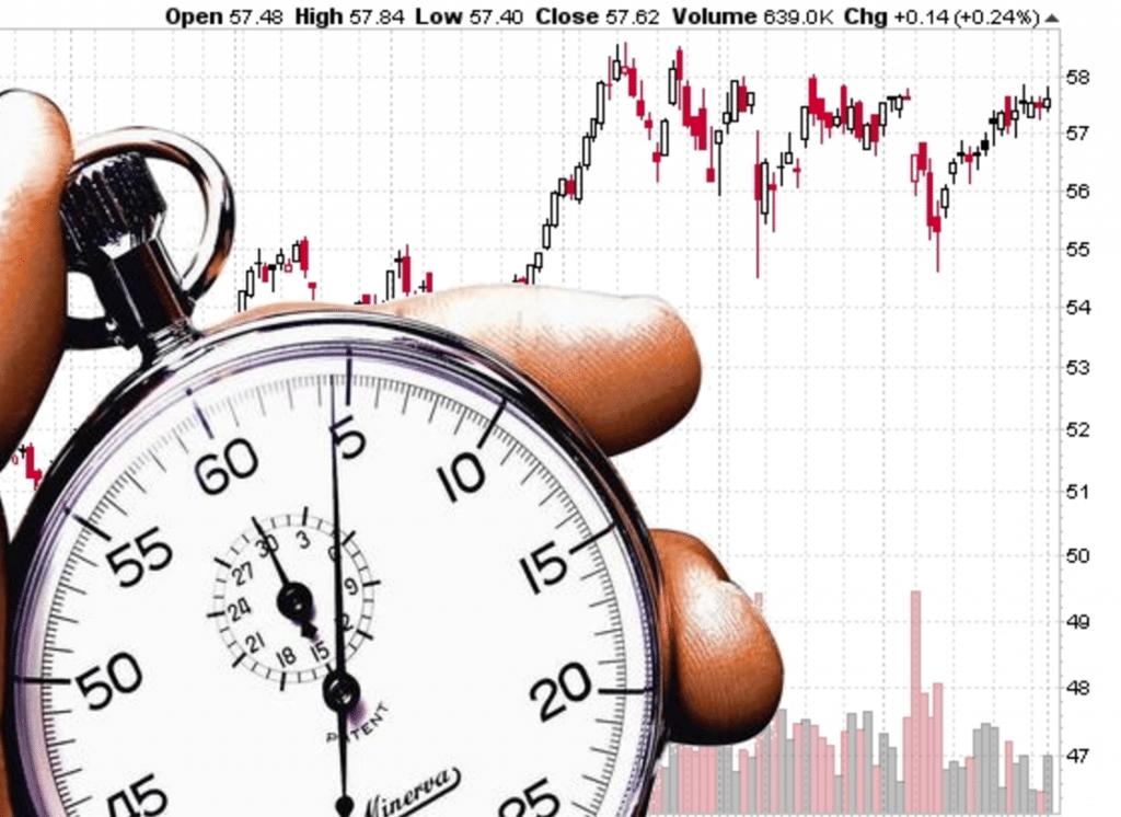 trading timing boursier marchés trader investissement