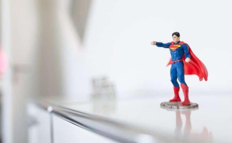 Superman super-pouvoirs réussite