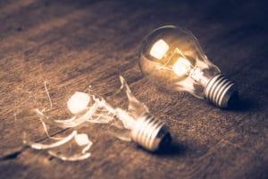 Edison ampoule échec