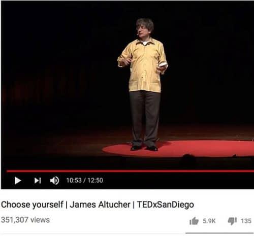 Conférence James Altucher TEDxSanDiego