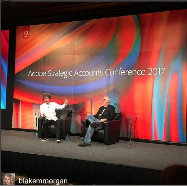 conférence Adobe James Altucher