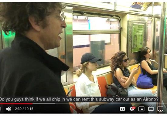 James Altucher métro