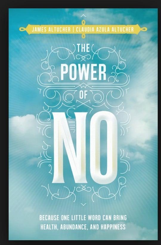 The Power of No James altucher livre