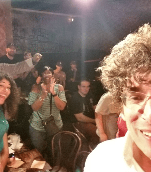 James Altucher spectacle stand-up