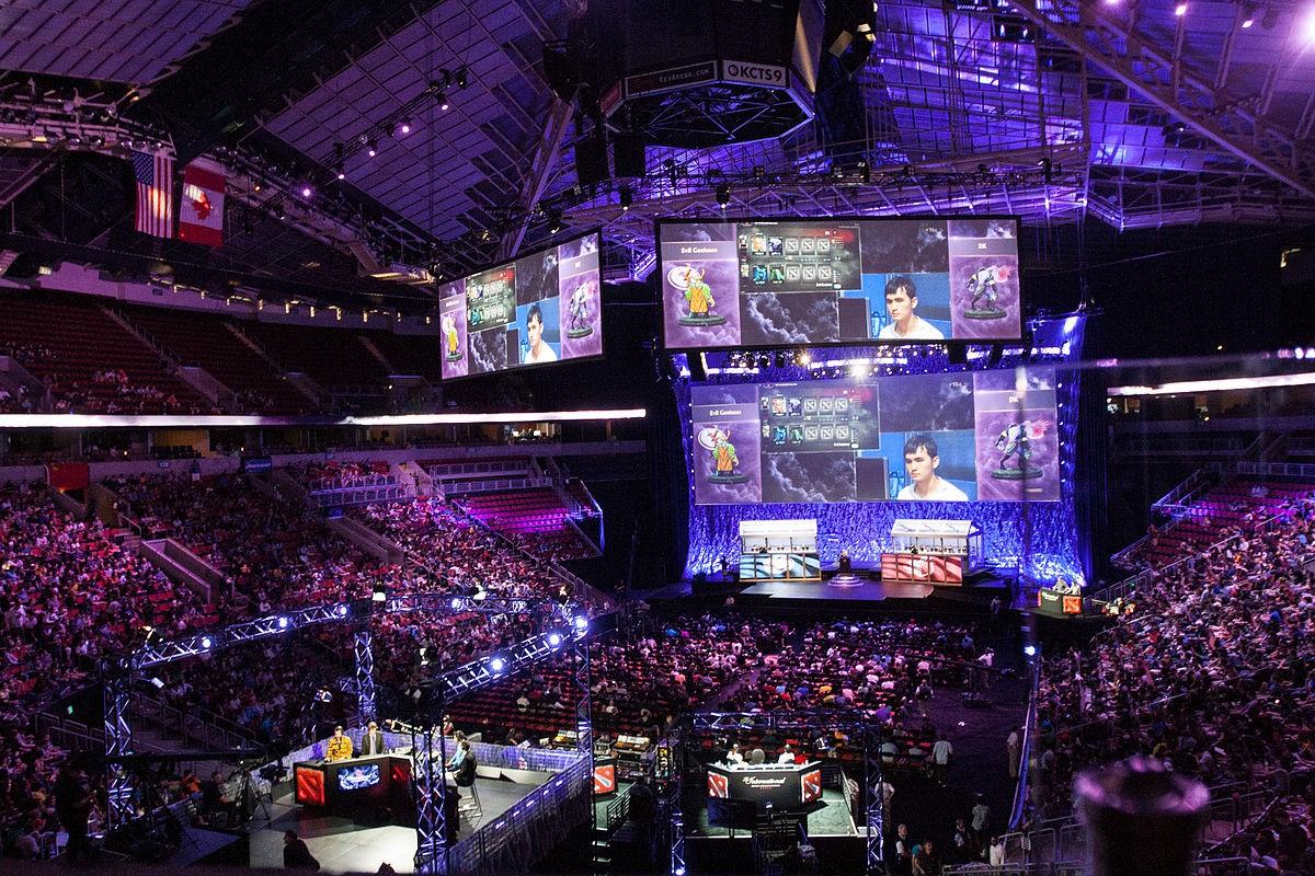 eSport stade tournoi Fortnite jeux vidéo