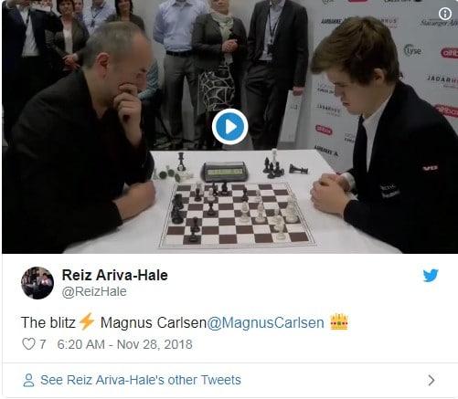 Magnus Carlsen échecs réflexion stratégique second degré