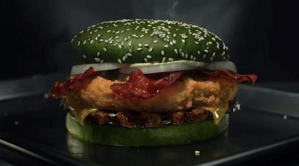 hamburger omg futuriste extraterrestre