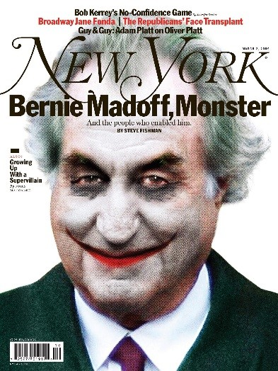 Couverture New York Bernie Madoff