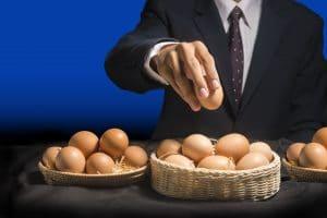 investir ne pas mettre tous ses oeufs dans même panier diversifier portefeuille