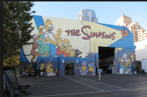 studios Fox Simpsons