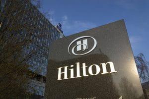 groupe hôtelier Hilton HLT