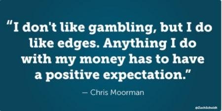 citation Chris Moorman pari argent