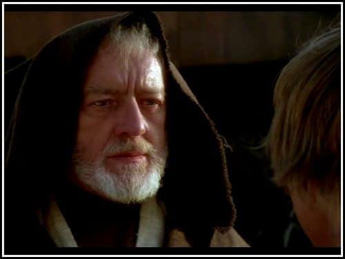 vieux Obi-Wan Kenobi Star Wars