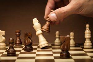 jeux d'échecs l'échec