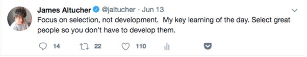 tweet James Altucher