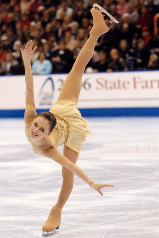 Sasha Cohen championne patinage