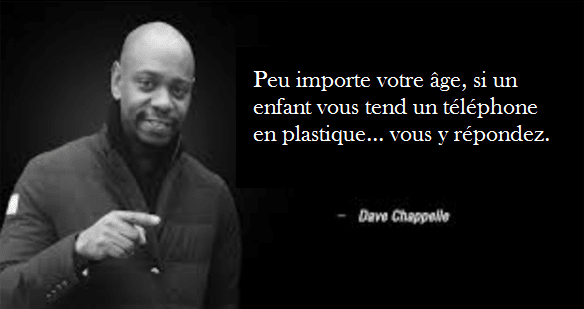 citation dave chappelle humoristes