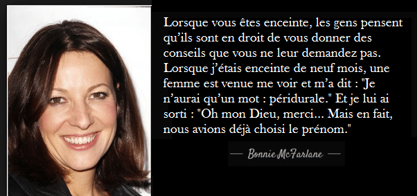 citation Bonne McFarlane humoristes