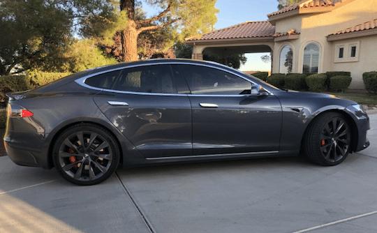 voiture Tesla Modèle S