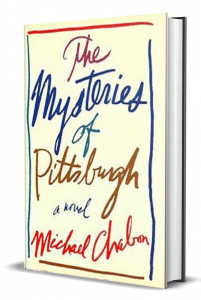Livre The Mysteries of Pittsburgh Michael Chabon