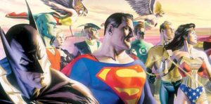 illustration Ligue des justiciers Alex Ross