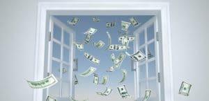 jeter argent par les fenêtres