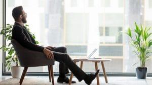 entrepreneur propriétaire d'entreprise prospère