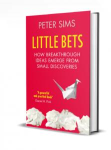livre Peter Sims Little Bets