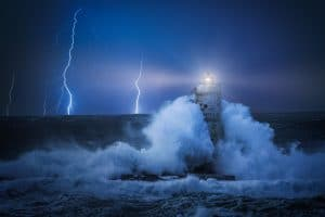 tempête phare