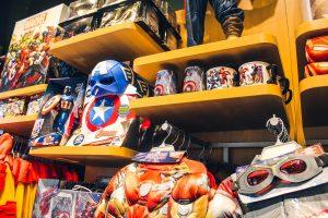 disney store marvel merchandising