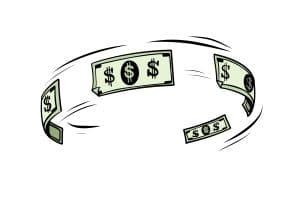 vélocité de l'argent
