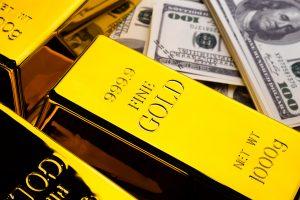 hausse de l'or