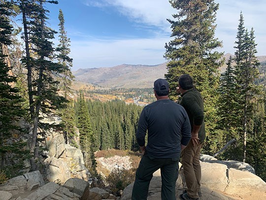 Utah randonnée photo