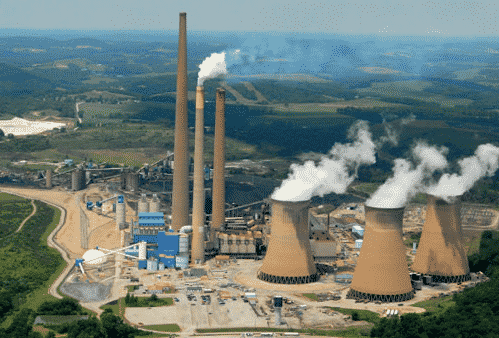 centrale charbon Homer City USA