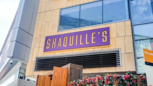 façade restaurant Shaquille's LA